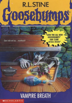 Anishka recommends VAMPIRE BREATH by RL Stine
