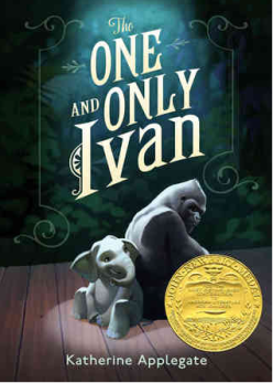 Anna recommends THE ONE AND ONLY IVAN by Katherine Applegate