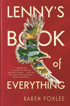 Matilda recommends LENNY'S BOOK OF EVERYTHING by Karen Foxlee