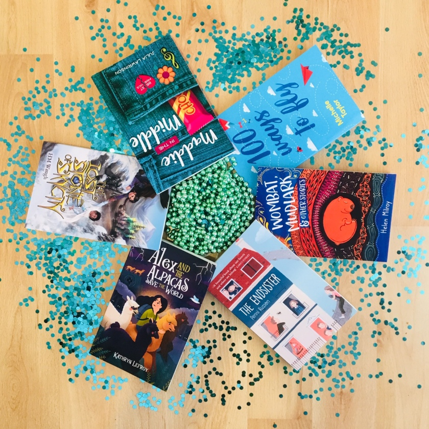 Prize 1 includes six children's novels by Australian writers.