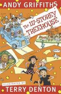 Henry recommends THE 117-STOREY TREEHOUSE by Andy Griffiths and Terry Denton
