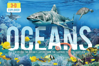 3D EXPLORER: OCEANS by Jen Green and illustrated by Laszlo Veres