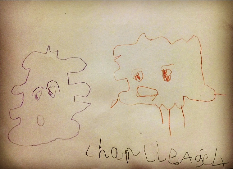 Fart and Burp artwork by Charlie