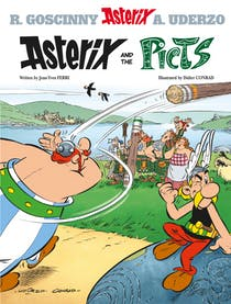 Lewis recommends ASTERIX AND THE PICTS by Jean-Yves Ferri, Didier Conrad, R Goscinny and A Uderzo