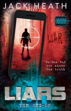 Rory recommends LIARS: THE SETUP by Jack Heath