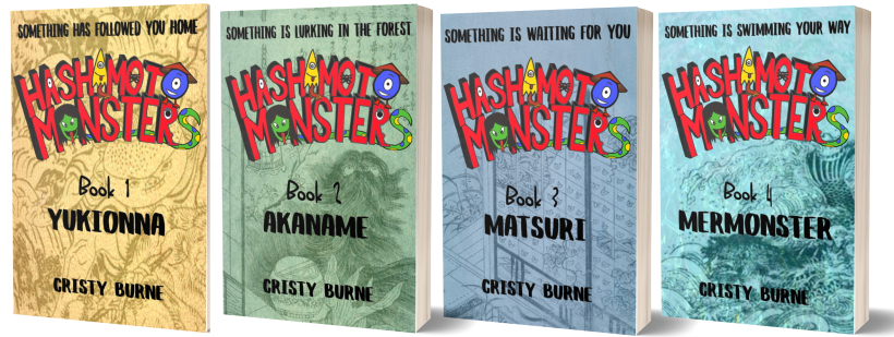 Hashimoto Monsters series by Cristy Burne