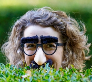 Cristy Burne disguised