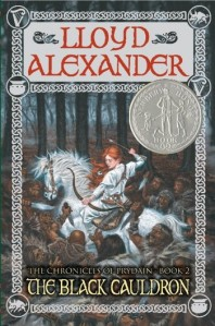 Fergus recommends THE CHRONICLES OF PRYDAIN BOOK THREE: THE BLACK CAULDRON by Lloyd Alexander
