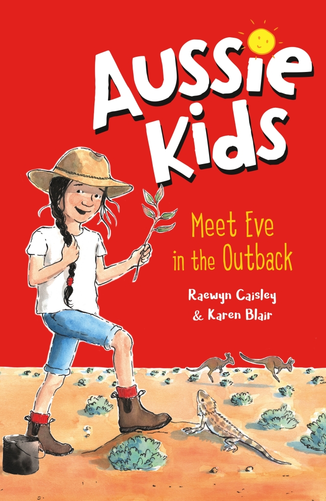 Meet Eve in the Outback (book cover)