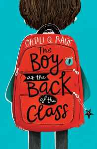 The Boy at the Back of the Class by Onjali Q Rauf and illustrated by Pippa Curnick