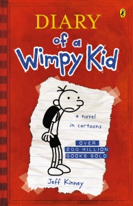 Willow recommends DIARY OF A WIMPY KID by Jeff Kinney