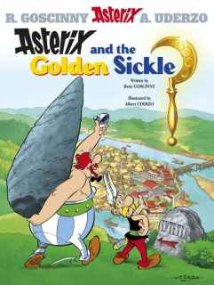 Lewis recommends ASTERIX AND THE GOLDEN SICKLE by R Goscinny and A Uderzo