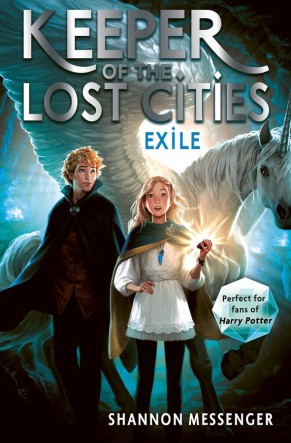 Matilda recommends Exile by Shannon Messenger