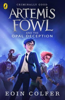 Fergus recommends ARTEMIS FOWL AND THE OPAL DECEPTION by Eoin Colfer