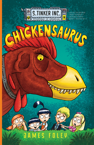 Chickensaurus by James Foley