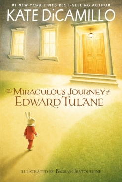 Matilda recommends THE MIRACULOUS JOURNEY OF EDWARD TULANE by Kate DiCamillo and illustrated by Bagram Ibatoulline
