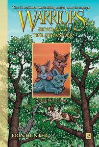 Kobe recommends WARRIORS: SKYCLAN AND THE STRANGER: AFTER THE FLOOD (Graphic Novel) by Erin Hunter