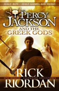 Fergus recommends PERCY JACKSON AND THE GREEK GODS by Rick Riordan