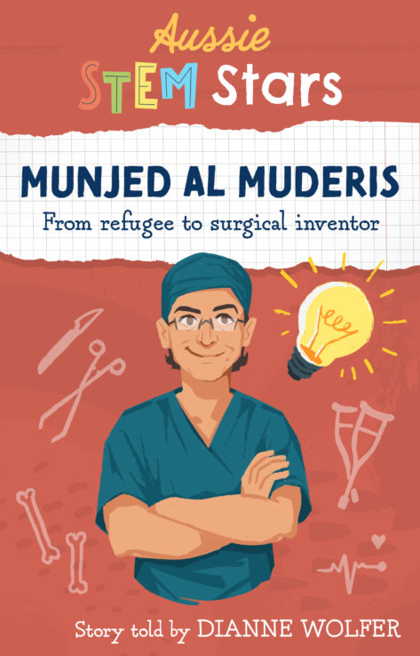 Munjed Al Muderis: from refugee to surgical inventor, story told by Dianne Wolfer