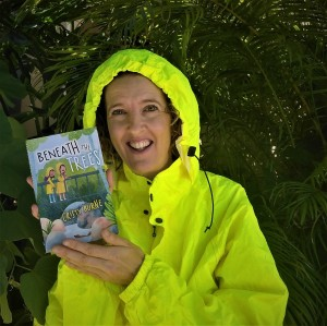 Cristy Burne holds Beneath The Trees