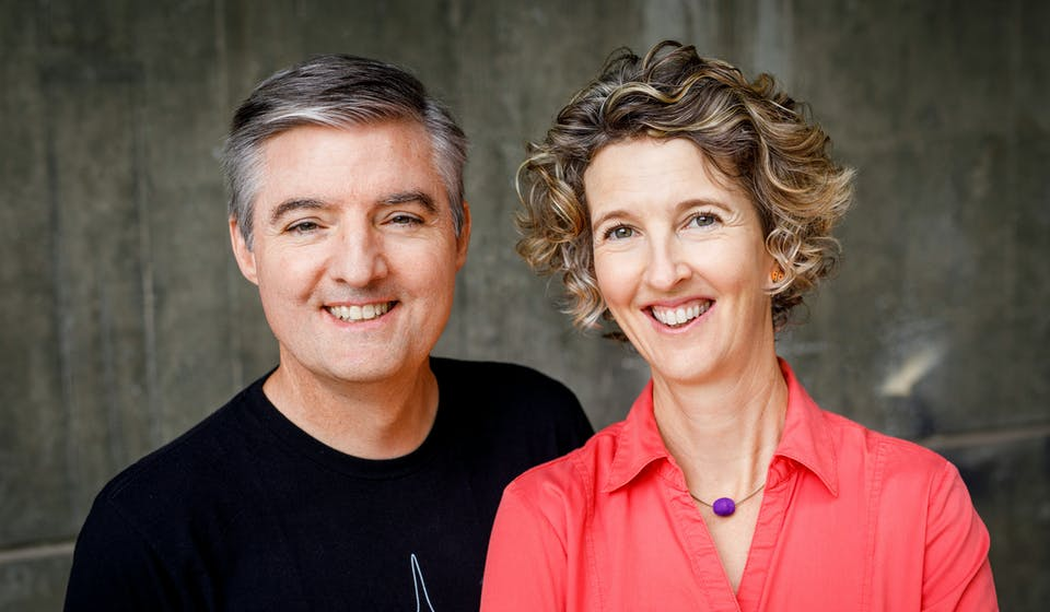 Denis Knight and Cristy Burne